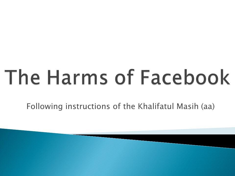 Following instructions of the Khalifatul Masih (aa)