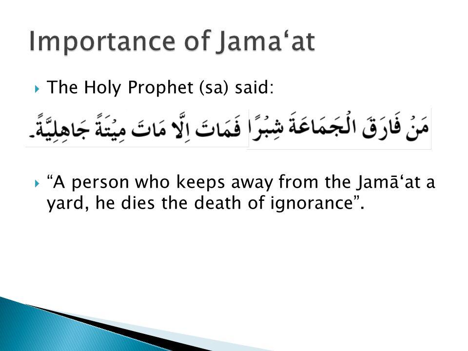  Hadrat Miqdad bin Aswad (ra): O Prophet of Allāh.
