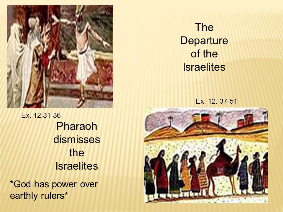 Ex. 12:31-36 Ex.