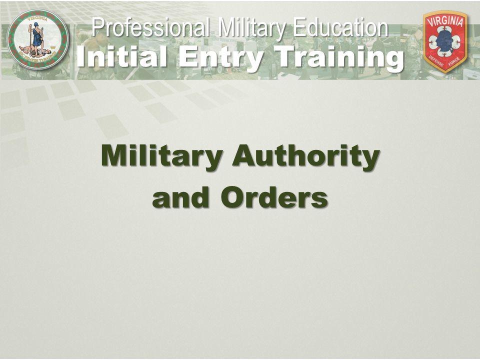 Special Orders Purpose Special orders supplement General Orders.