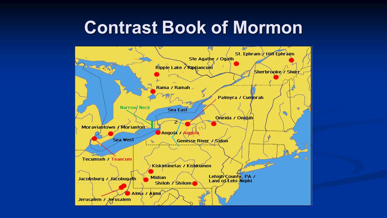 Contrast Book of Mormon