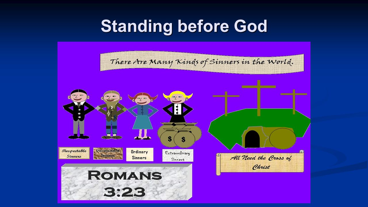 Standing before God