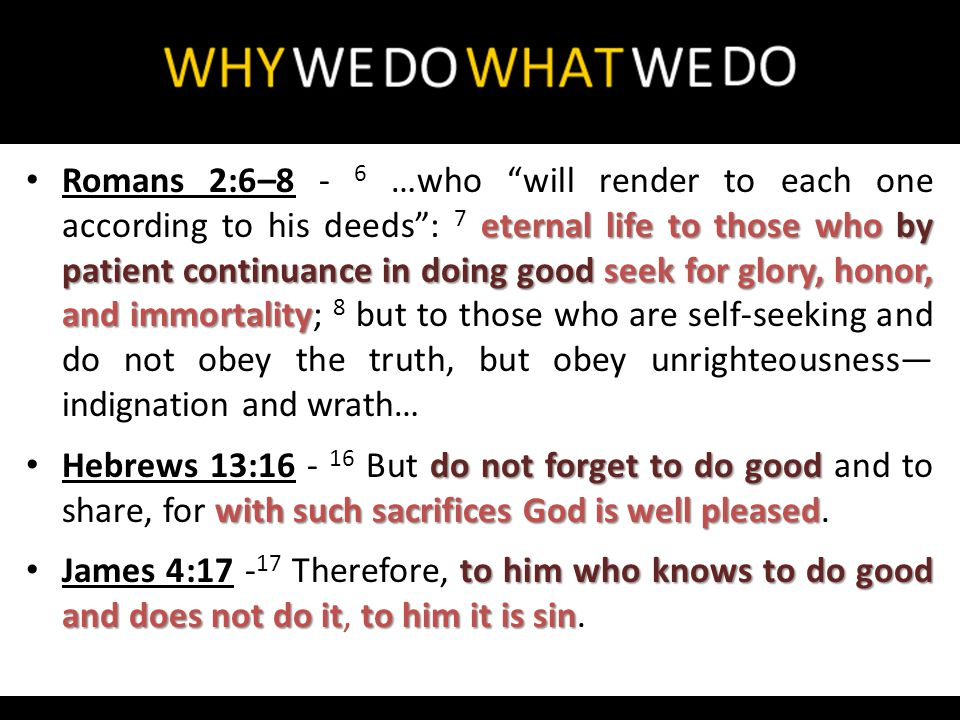 in works they deny Him disqualified for every good work Titus 1:15–16 - 15 To the pure all things are pure, but to those who are defiled and unbelieving nothing is pure; but even their mind and conscience are defiled.