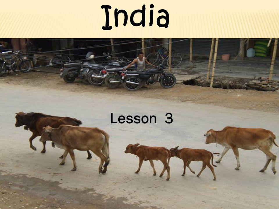 Lesson 3 India
