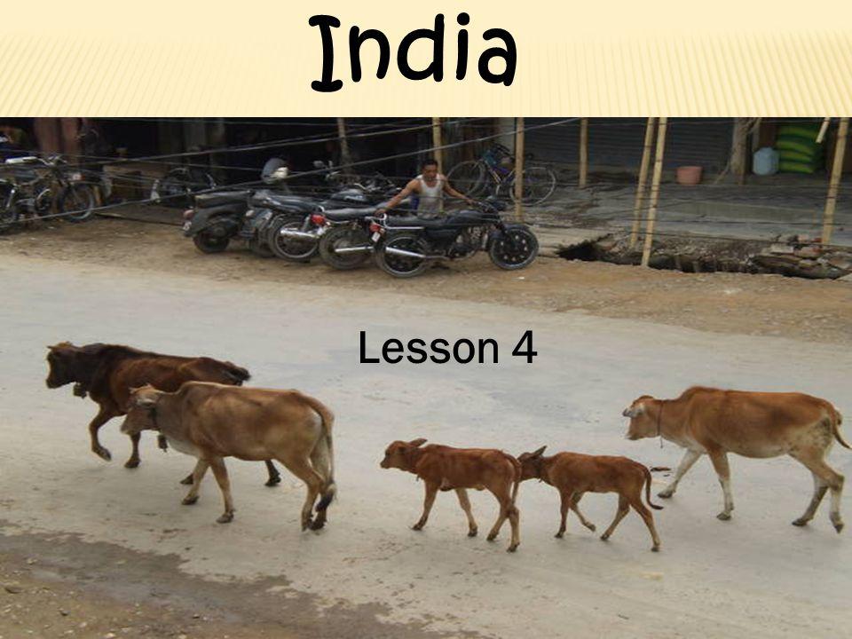 Lesson 4 India