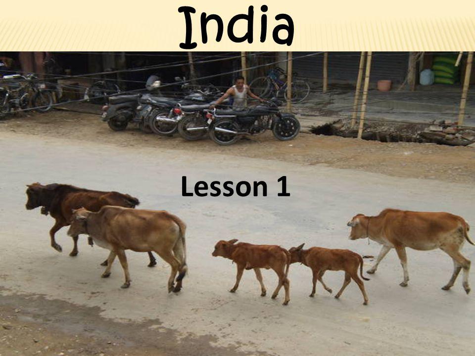 India Lesson 1
