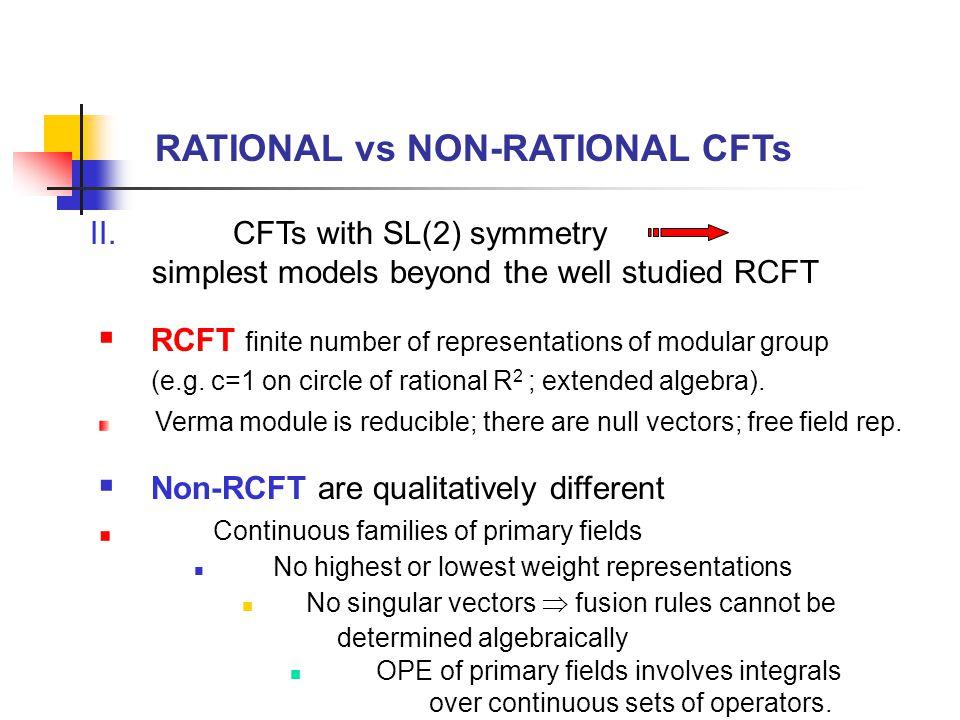  Modular properties?  Factorization properties? Higher genus Riemann surfaces Verlinde theorem?
