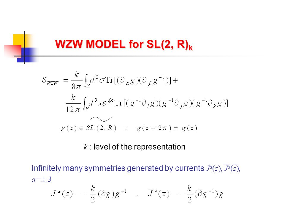 4-POINT FUNCTIONS SL(2,C) conformal invariance of the worldsheet and target space  non-trivial dependence on cross ratios Teschner applied generalization of bootstrap for Maldacena & Ooguri analyzed analytic continuation.