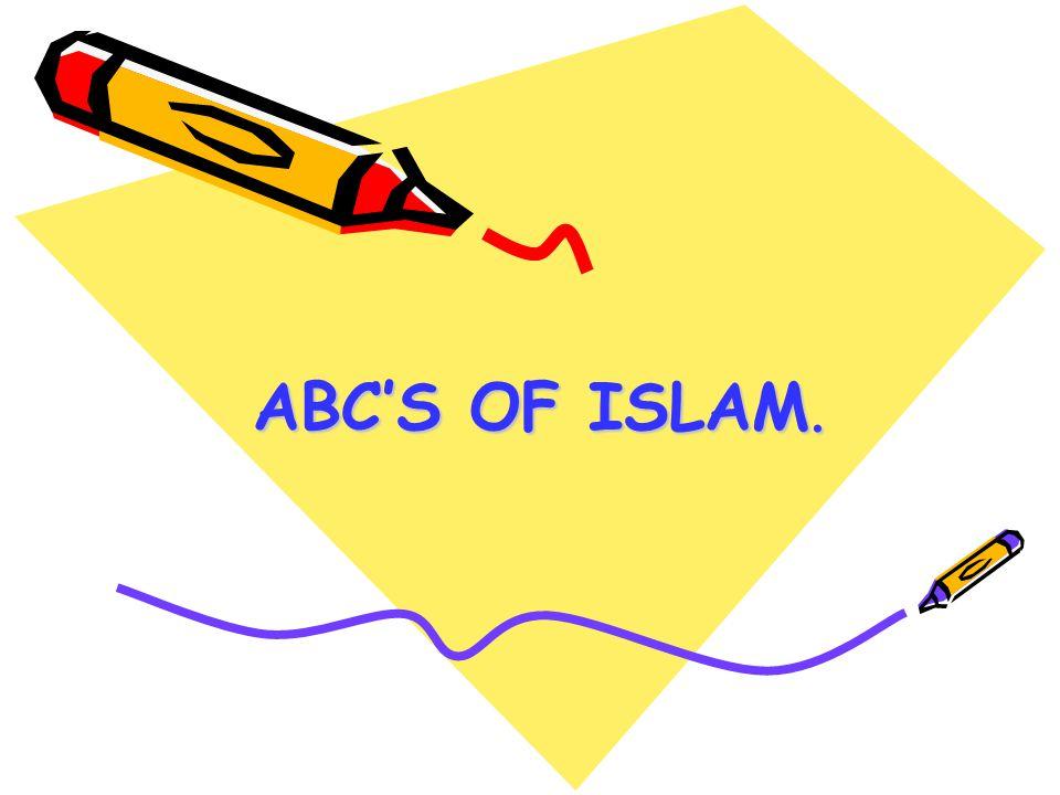 ABC'S OF ISLAM.