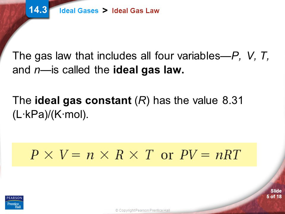 © Copyright Pearson Prentice Hall Slide 16 of 18 14.3 Section Quiz.