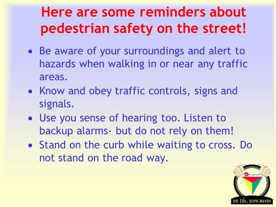 Transportation Tuesday Here are some more tips to remember.