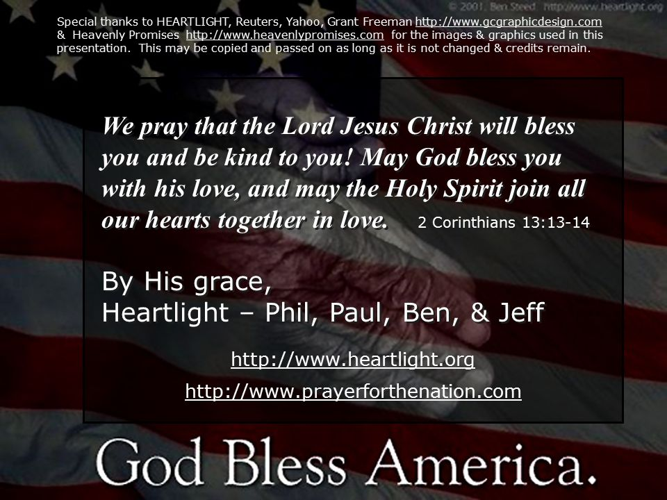 http://www.heartlight.org http://www.prayerforthenation.com http://www.heartlight.org http://www.prayerforthenation.com http://www.heartlight.org http://www.prayerforthenation.com http://www.heartlight.org http://www.prayerforthenation.com We pray that the Lord Jesus Christ will bless you and be kind to you.