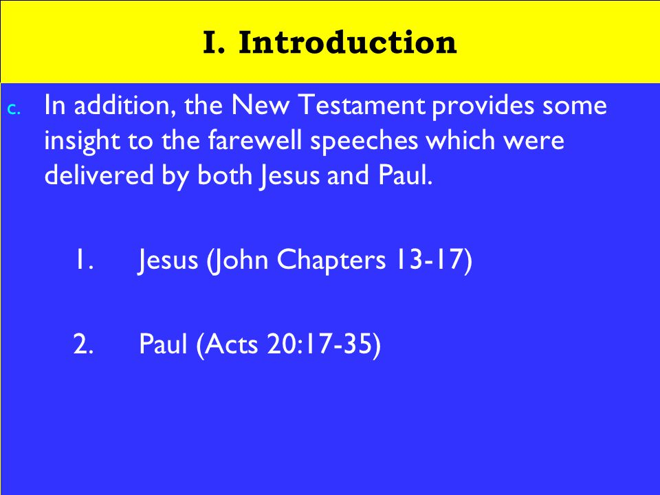 6 I. Introduction c.