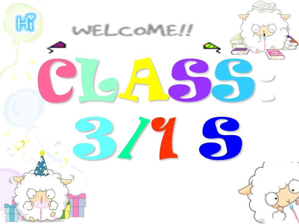 CLASS: 3/1 S