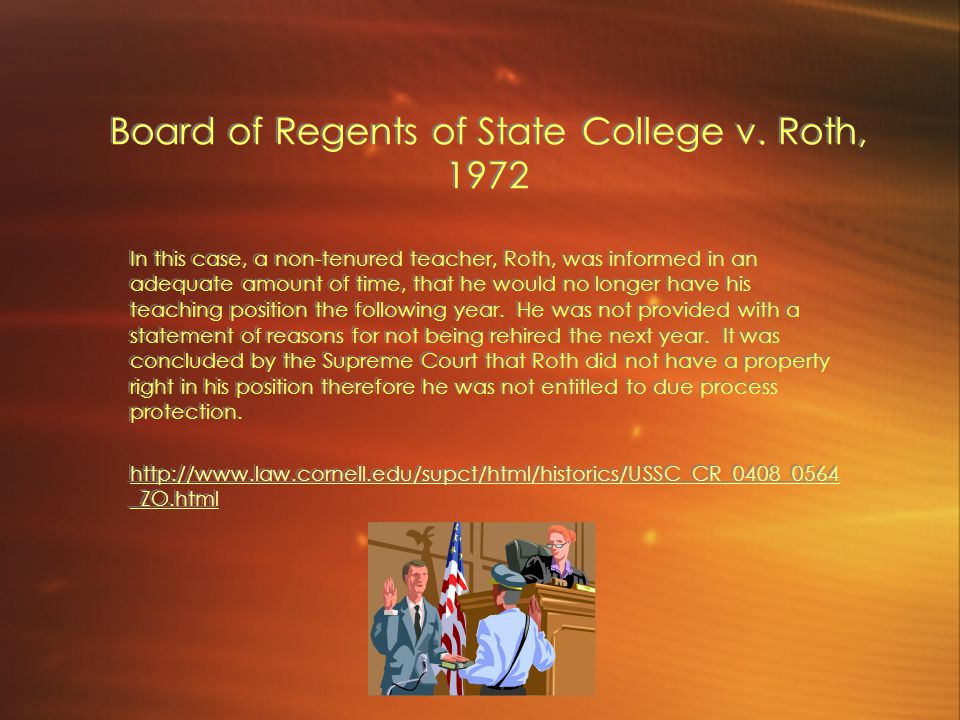 Board of Regents of State College v.