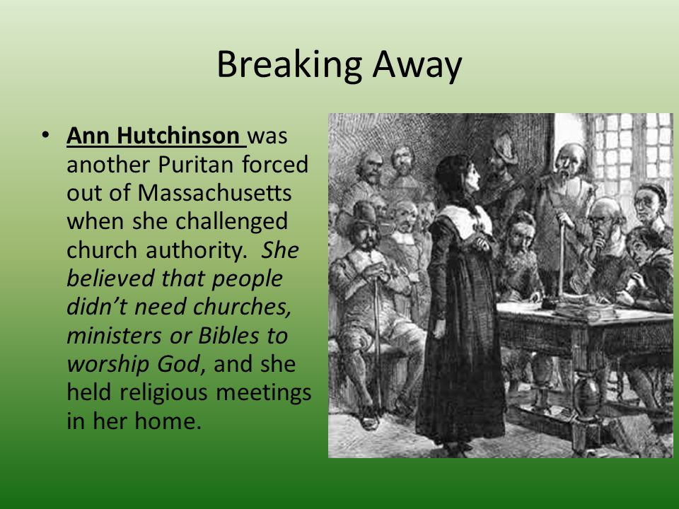 Separatists Puritans who opposed those who wanted to reform the Church of England from within and wanted to form their own separate congregations