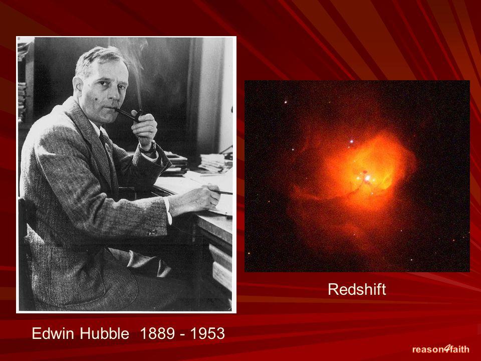 Edwin Hubble 1889 - 1953 Redshift