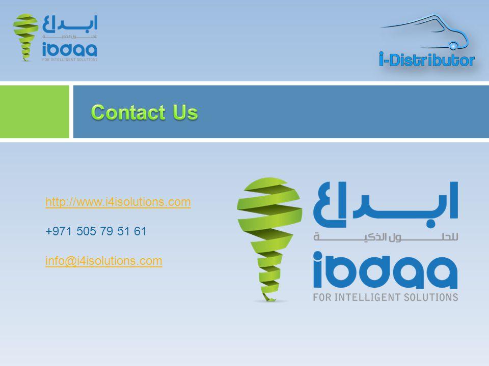 http://www.i4isolutions.com +971 505 79 51 61 info@i4isolutions.com