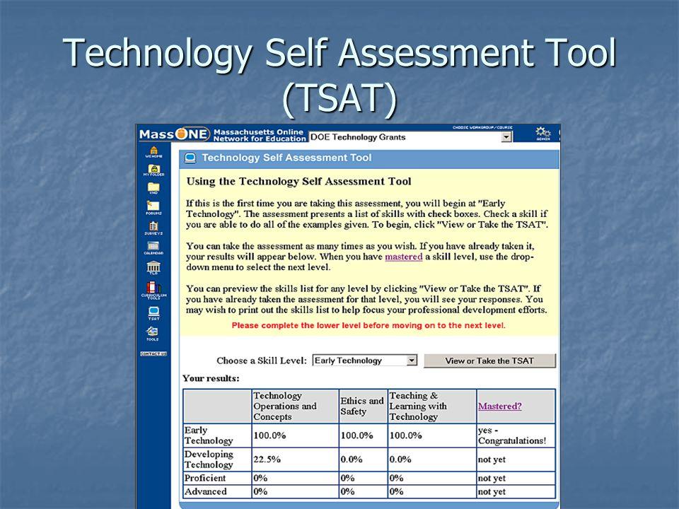 Technology Self Assessment Tool (TSAT)