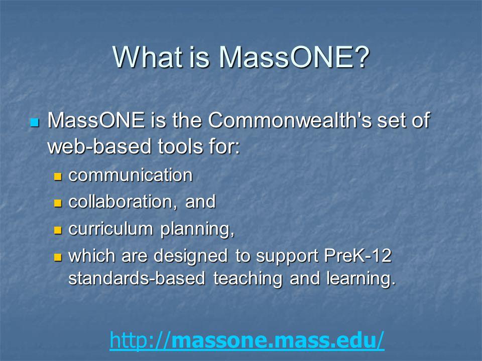http://massone.mass.edu/