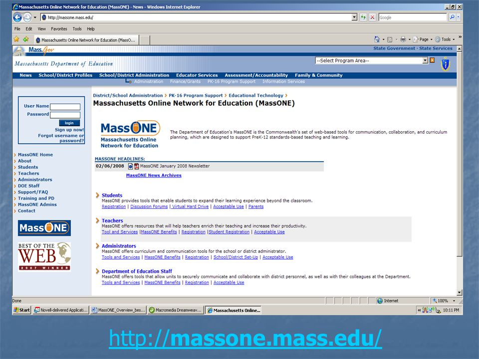 Who can use MassONE.