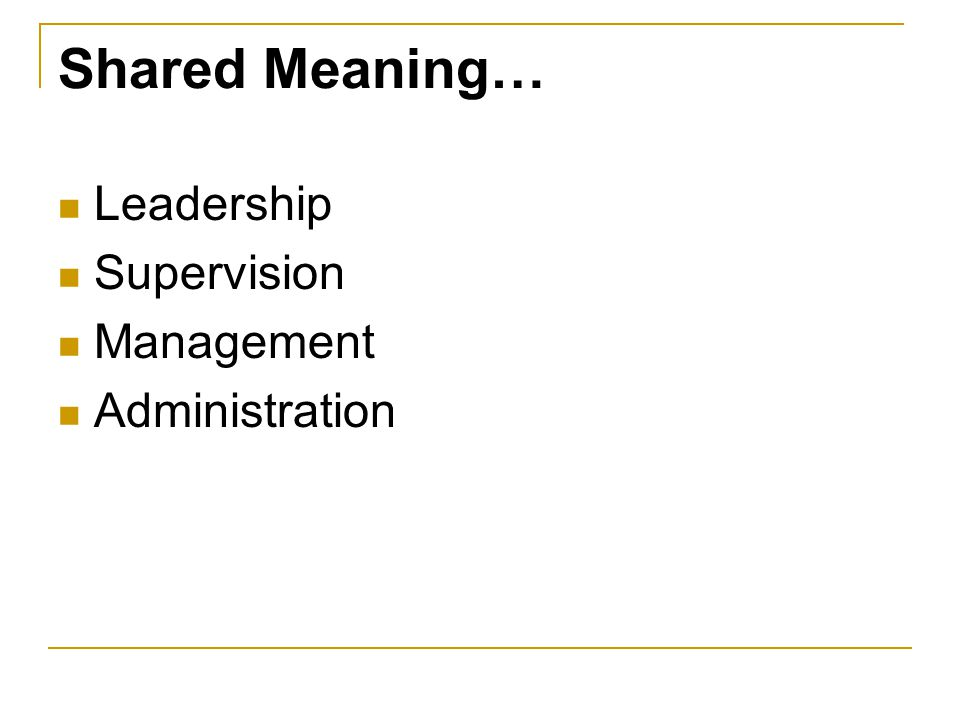 Supervision and Evaluation Workgroup Assistant Director Education Service Specialist Unit Coordinator Retreat