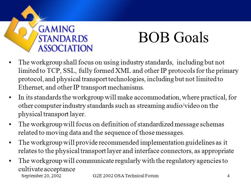 September 20, 2002G2E 2002 GSA Technical Forum15 WIRING OPTION 4