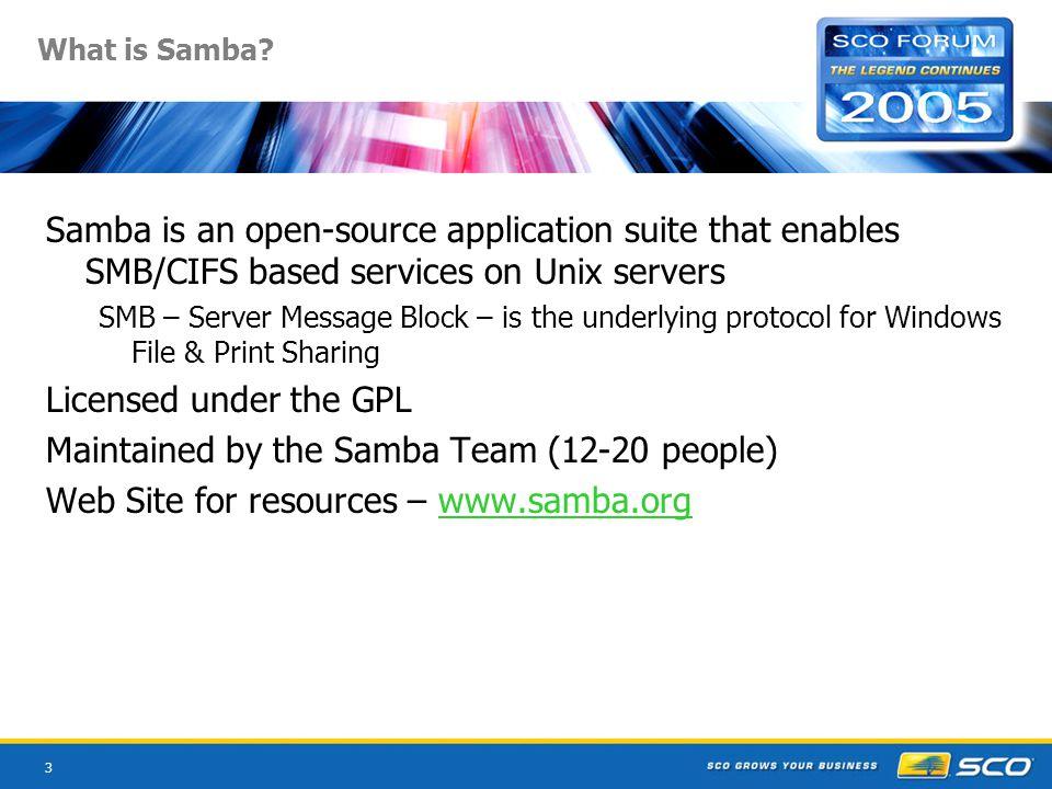 3 What is Samba.