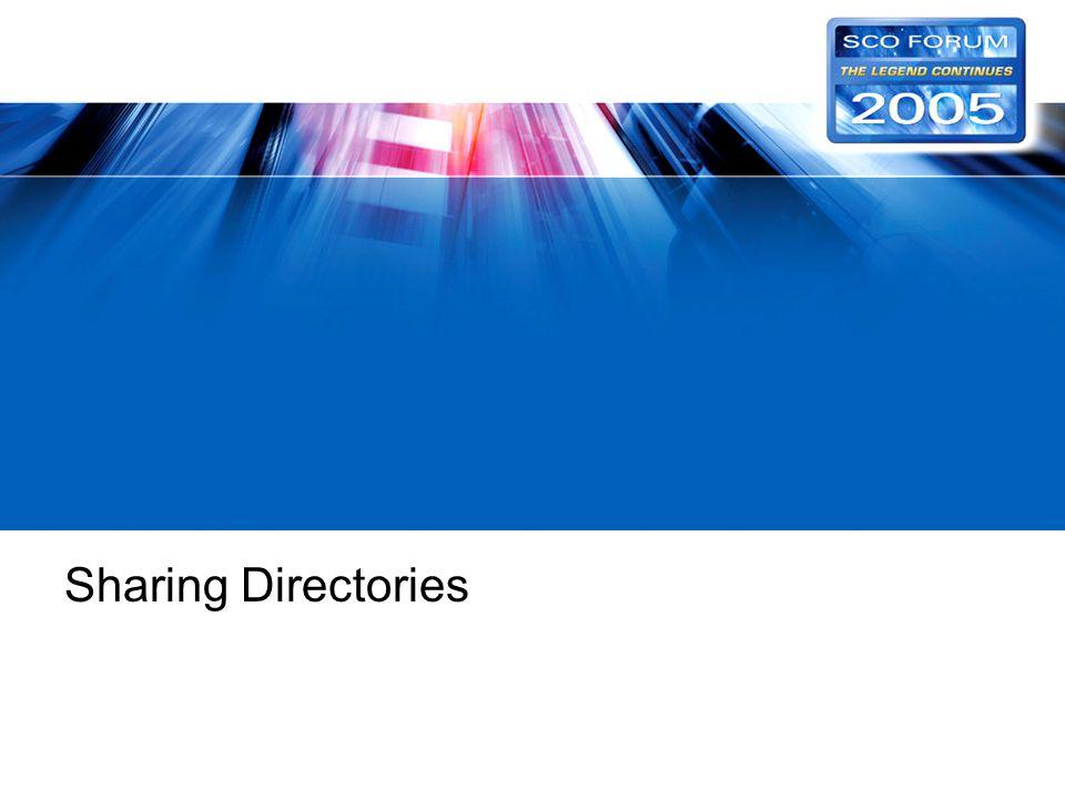 Sharing Directories