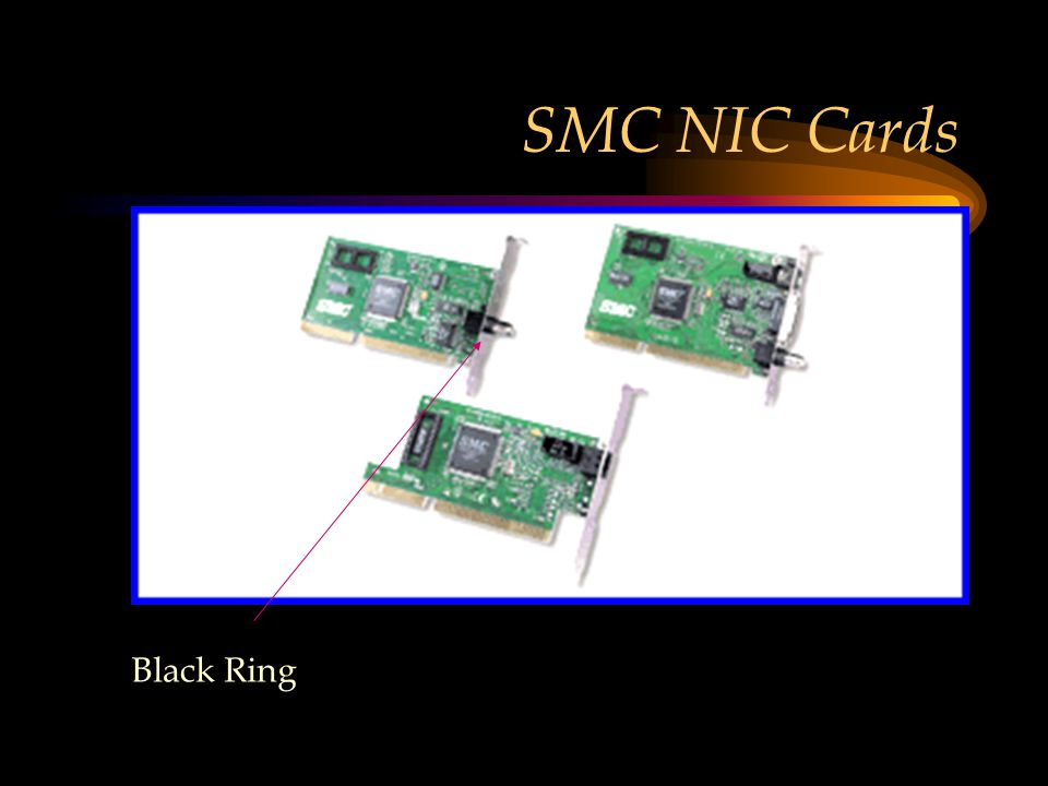 SMC NIC Cards Black Ring