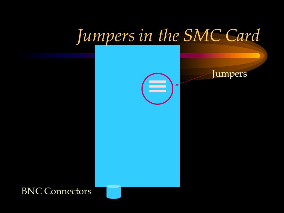 Jumpers in the SMC Card Jumpers BNC Connectors