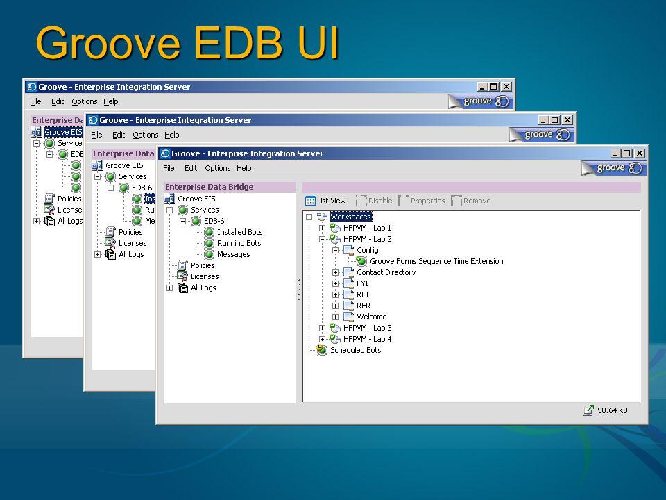 Groove EDB UI