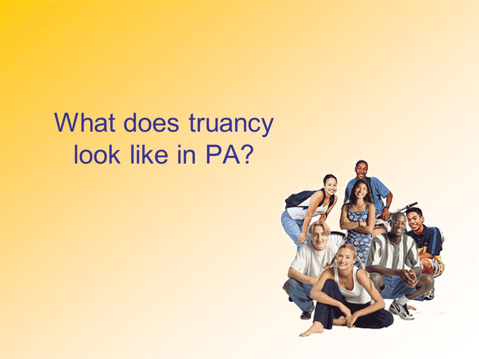 What does truancy look like in PA