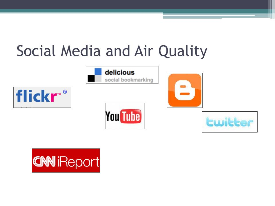 Social Media and Air Quality