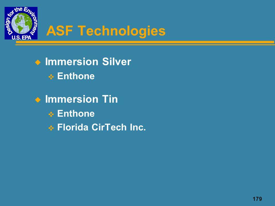 180 ASF Technologies u Organic Solderability Preservative (OSP) < MacDermid, Inc.