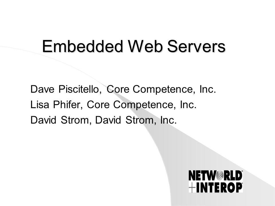 Appliances: Pros l Simplicity over NT & UNIX servers, –esp.