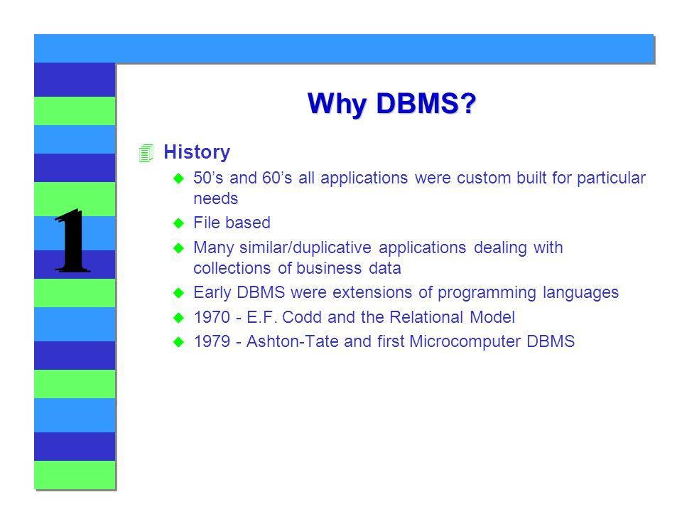 1 1 Why DBMS.