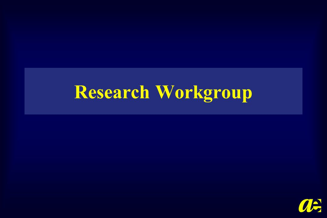 Research Workgroup