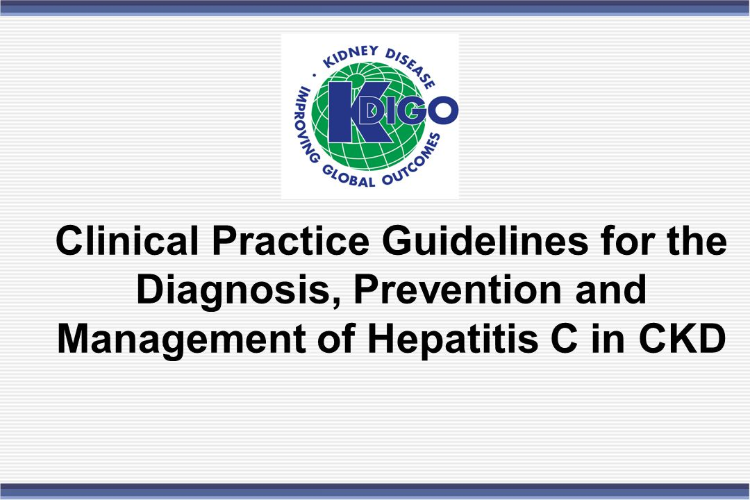 Chapter 4: Management of HCV-Infected Patients Pre & Post Transplant 4.4 - Management of HCV-related complications in kidney transplant recipients: 4.4.3 - It is suggested that HCV-infected kidney transplant recipients be screened for the development of hyperglycemia after transplantation.