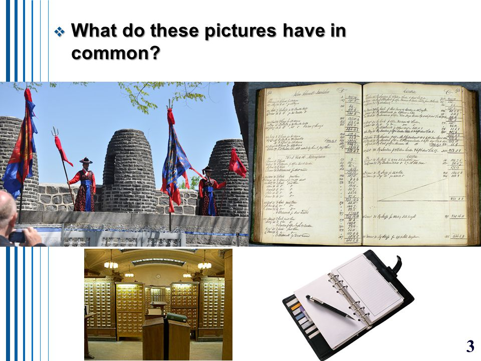 3  What do these pictures have in common