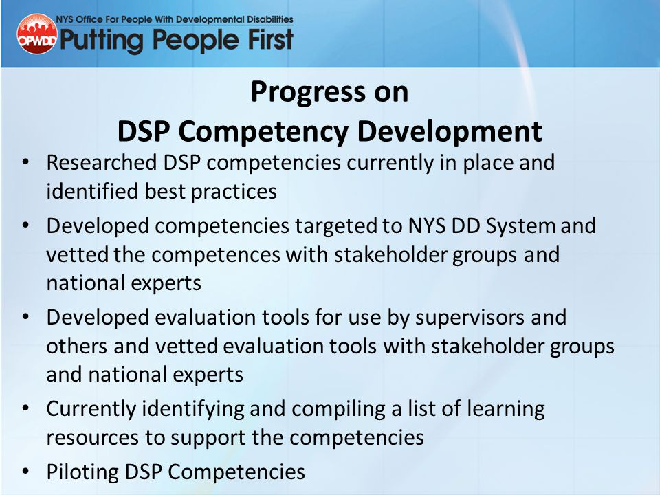 What is a competency based program.