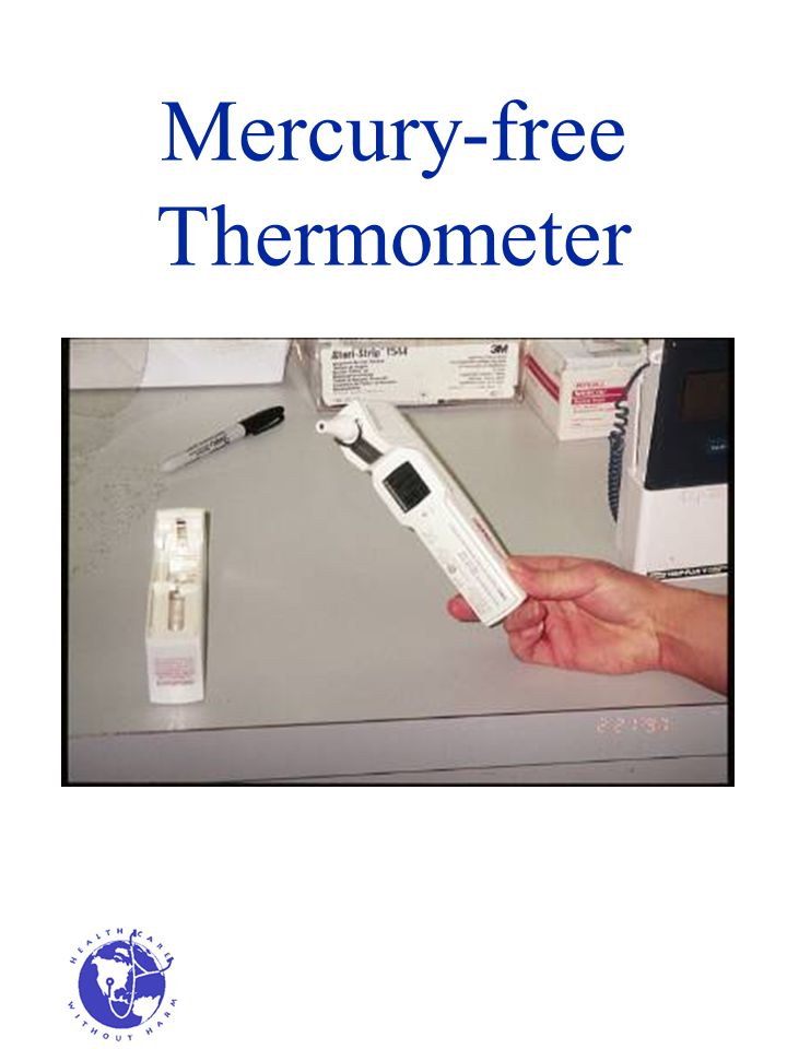 Mercury-free Thermometer
