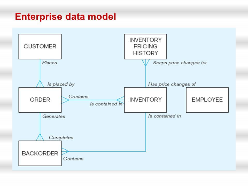 Enterprise data model