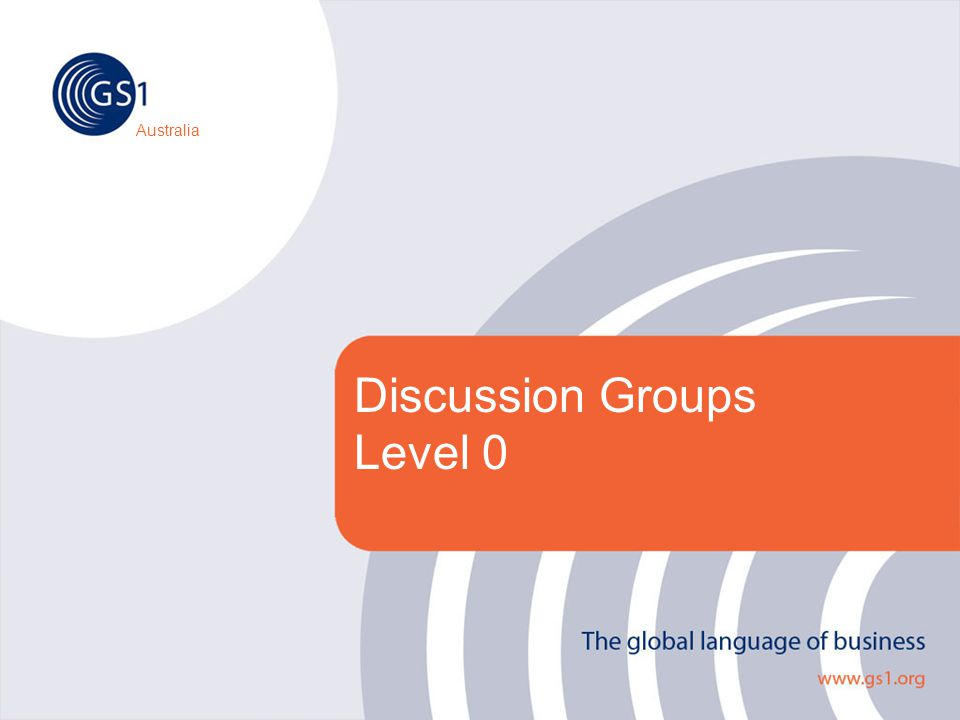 Australia Discussion Groups Level 0