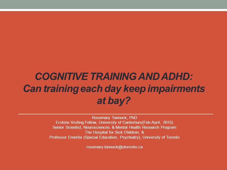 Training effects on Criterion Measure DS-Backwards Intent-to-Treat Analysis: Ancova post-test, covarying pretest score ES: Cohen's d =.55
