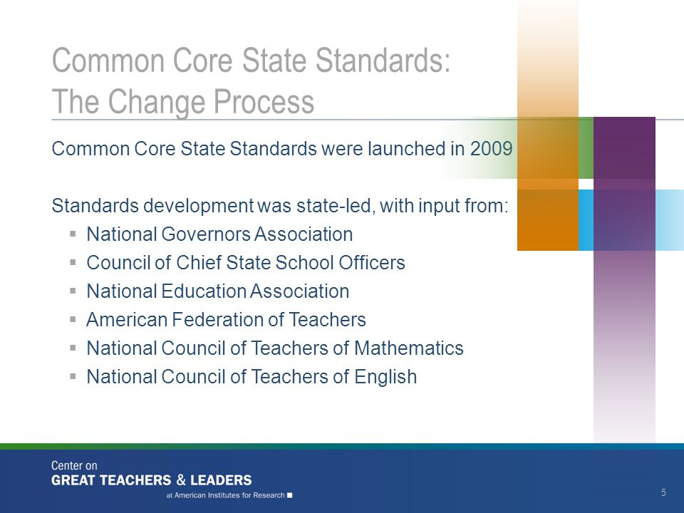 Common Core Standards ELA/Literacy emphasize:  Increasing reading complexity to prepare all for reading levels expected in college and career  Expansion of vocabulary  Use of text-based evidence  Reading and development of non-fiction texts Common Core Standards mathematic emphasize:  Building knowledge depth  Developing conceptual understanding  Increasing operational fluency  Applying knowledge Common Core State Standards: Key Shifts 6