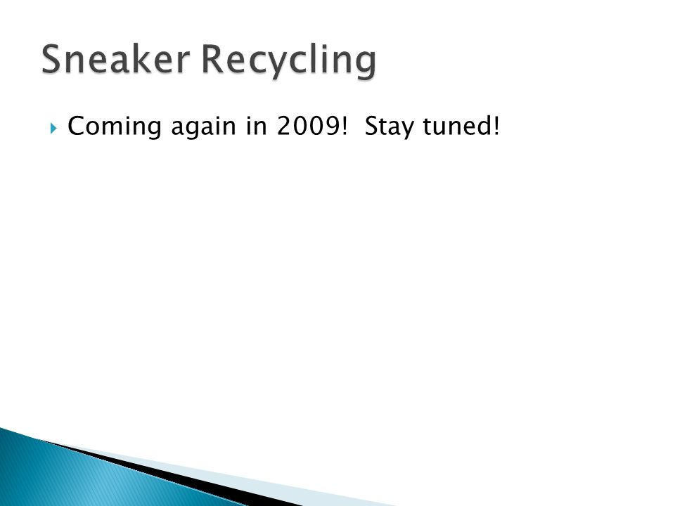  Coming again in 2009! Stay tuned!