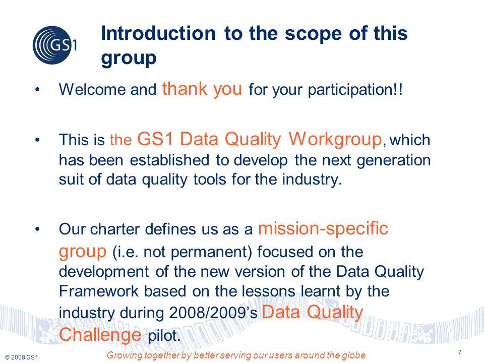 Contact Details Gabriel Sobrino Programme Manager, Data Quality GS1 GDSN, Inc.