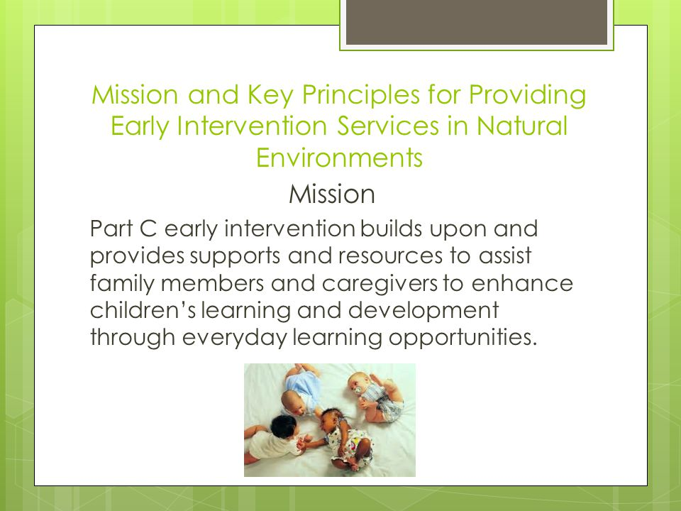 Activity #1 The Mission  What would you write if you were going to write up a mission statement based on the medical approach to intervention for your discipline.