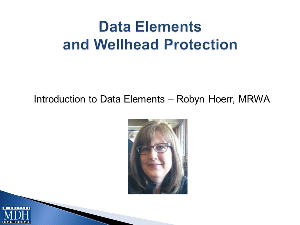Introduction to Data Elements – Robyn Hoerr, MRWA